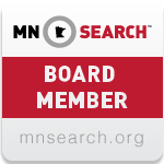 MnSearch Board of Directors Member Badge