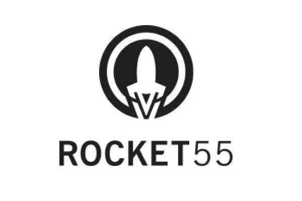 Rocket 55 Logo - white background