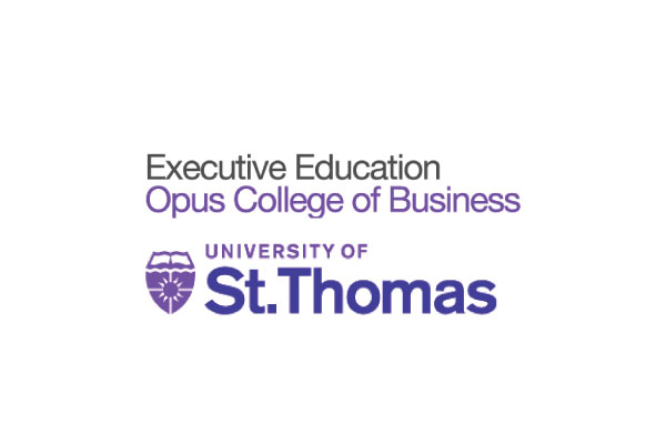 Univiersity of st. thomas - executive education logo