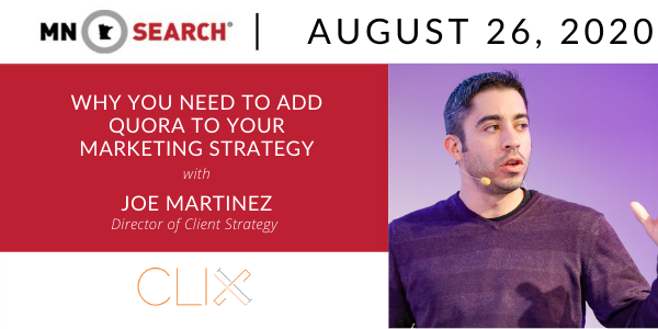 Joe Martinez discusses adding Quora as an effective addition to marketing strategy.