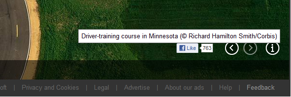 Bing.com Homepage 2012-09-06 Driver Training Course in Minnesota by Richard Hamilton Smith