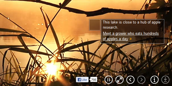 This lake is close to a hub of apple research. Meet a grower who eats hundreds of apples a day