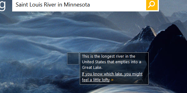Saint Louis River, Minnesota - This Is The Longest River In The United States That Empties Into A Great Lake. If you know which lake, you might feel a little lofty.