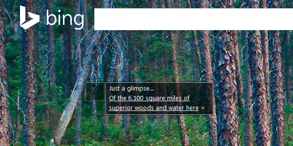 Just a glimpse… Of the 6,100 square miles of superior woods and water here »