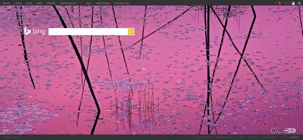 Sunset Near Ely, Minnesota featured on Bing.com 08-29-2015