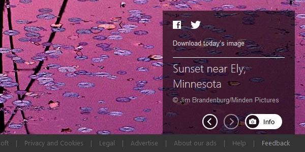 Sunset near Ely, Minnesota © Jim Brandenburg/Minden Pictures