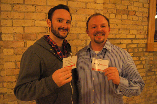 John Doherty and Josh Braaten from MnSearch