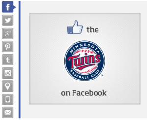 Like the Minnesota Twins on Facebook