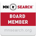 MnSearch Board Member Badge