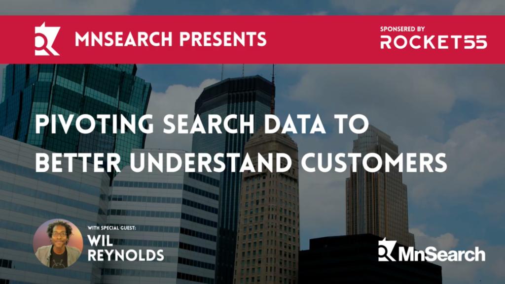Pivoting Search Data