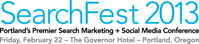 SearchFest 2013 logo