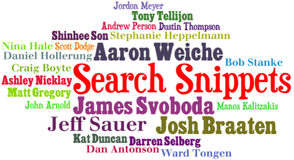 Search Snippets Word Cloud