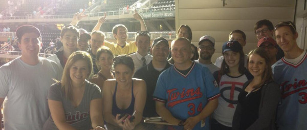 James, Paul, Keith and others at the Twins Deckstravaganza Social Media Event 2013