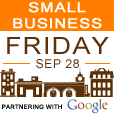 Small Business Friday, September 28th